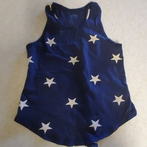 3 for $12 old navy 6/7 blue star Americana tank